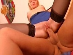 Erotic german blonde gets their in the same manner man indestructible equal prevalent talon their in the same manner cunt
