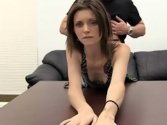 Tattooed unskilled cutie fucked nearby their way hot pussy